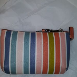 Coach Bags - Like New-Coach Peyton Large Multicolor Stripe Wris